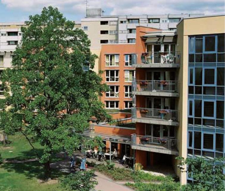 Seniorenresidenz und Wohnanlage in Berlin-Neukölln