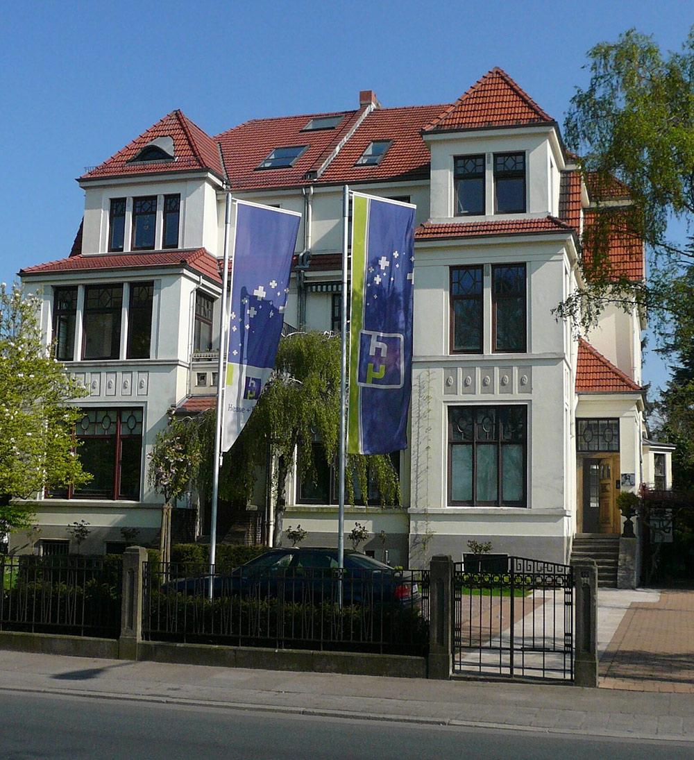 Frontansicht Villa Hesse + Partner am Osterdeich 121, Bremen